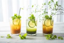 優しい清涼感のモヒートティーソーダと桃のクレープがCHAVATYに登場。夏の暑さとジメジメを吹き飛ばそ