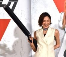 米倉涼子、昨年3月に吹き替えの映画公開で安堵「『ブラック・ウィドウ』の集大成」