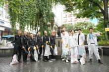 映画『東京リベンジャーズ』 トーマン&メビウスチームが渋谷でゴミ拾い