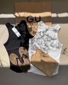 GUの「タンクトップ」がこんなに優秀だったなんて…夏に重宝すること間違いなしのアイテム3選をご紹介