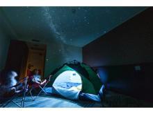 夏休みの思い出に!金沢東急ホテルに1日1組限定「ホテルでキャンプ体験プラン」登場
