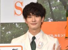 岡田将生、交際質問に「ウフフ…」 否定せず笑顔を浮かべる