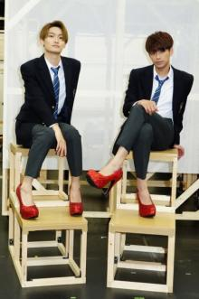 森崎ウィン&高橋颯、ミュージカル歌唱曲を本番さながらに披露 「できること全て詰め込みたい」と意欲