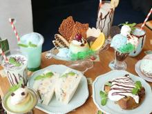 目移りしそうな充実のラインナップ!大阪・旬゛喫茶トサボリパーラーで「チョコミント祭」がスタートです
