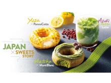 洋菓子と和素材がコラボ!KKDJが贈る夏限定のドーナツ&デザートドリンクが新発売
