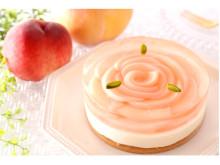 """アンテノールにて""""夏の桃フェスタ""""開催!桃を使った多彩なケーキが期間限定で登場"""