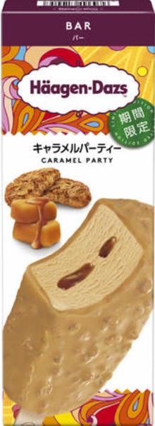 ハーゲンダッツの新作バー「キャラメルパーティー」がついに発売。温かいお茶とのペアリングも楽しみましょ