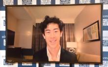 フィギュアのネイサン・チェン選手、文武両道目指すアスリートの奨学金制度に参画