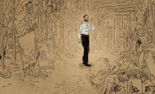 『ジュゼップ 戦場の画家』スケッチとアニメーションを融合させたアートのような本編映像