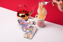 あの味が食べたくなる!? CUP NOODLE x CASETiFYの名前入りiPhoneケースは、みんなの視線を集めそう