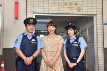浜口京子『ハコヅメ』で下着盗まれた被害者役 難役見事に演じる「緊張して固まりそうに」