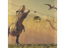 恐竜化石発見の小谷村に「つがいけ恐竜ランド」開設!新感覚アトラクションも登場