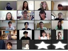 県立広島大学「オバマ・プロジェクト」、留学生とのオンライン交流会を開催