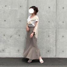 【今週なに着る?】30度以上の夏本番!きれいめ「マーメイドスカート」はカジュアルに外すのがこなれる秘訣