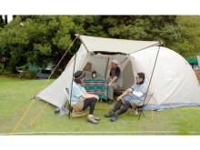 密にならない環境で楽しめる!「つま恋リゾート彩の郷」内にキャンプ場がオープン