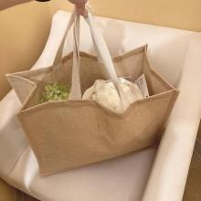 これはお店に急がなきゃ。人気の「ジュートバッグ」がついに100円ショップからも登場してるって知ってた?