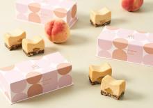桃×アールグレイは少し贅沢な大人味。BAKE発「ザ チーズテリーヌ」にフレーバーアイテムが初登場します