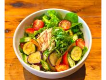 夏野菜で栄養も元気も満点!「8種類の夏野菜のさっぱり和風サラスパ」が発売中