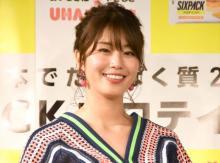 """稲村亜美、""""健康美""""体現したレギンス姿披露「セクシーボディ」「惚れてまう」"""