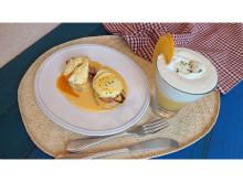 オンライン料理教室でエッグベネディクト&チーズケーキドリンクを作ろう!