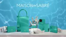珊瑚が煌めく海みたい。「MAISON de SABRÉ」のアイテムに美しい「コーラルブルー」が夏季限定で登場です