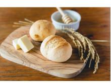 玄米由来のビタミンや食物繊維が摂れる!「もちもちお米ブランパン」2種が発売