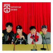 SHINee、最新アルバム『SUPERSTAR』が通算4作目の1位獲得【オリコンランキング】