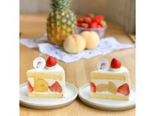 「いちびこ」エスパル仙台店だけのお楽しみ!夏季限定ショートケーキが発売中