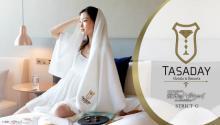 『閃光のハサウェイ』タサダイ・ホテルイメージのグッズが商品化 ホテルカード付きカードケースやバスタオルなど