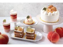 洋菓子専門店「ラ・メゾン白金グラン」に、桃づくしの新作ケーキ3種が登場!