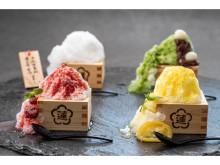 『神戸みなと温泉 蓮』にパティシエ発案の個性的かき氷「ふわこおり」が登場!