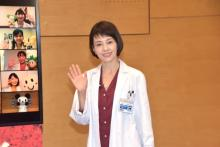 沢口靖子、アナ30人を『科捜研の女』宣伝隊長に任命 マリコものまねを公認「一致しました」