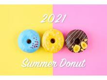プラントベースドフードブランド「2foods」にポップでカラフルな夏の新ドーナツ登場!