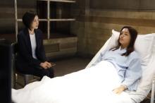 『キントリ』史上初のベッドに寝たまま取り調べ 高橋メアリージュンが目で熱演