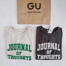 【GU】日替わりで着たいくらいお気に入り。みんなが持ってる1490円の「カレッジロゴT」は買って損なし