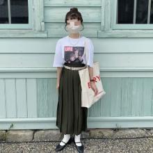 【ユニクロ】ワイドプリーツはより洗練されたイメージに。新作スカートはオールシーズンで穿けちゃう逸品です