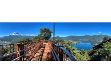 富士山と河口湖を一望できる『絶景パノラマ回廊』が富士山パノラマロープウェイに誕生