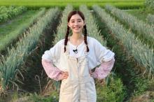 新木優子、農家に嫁入り!? 作業着姿で華麗に草刈り「任せて下さい!」