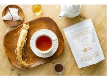 国産高麗人参を使用したオリジナル健康茶「和の高麗ルイボスブレンド」が新発売!