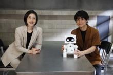 """榎木淳弥、ロボットの声で""""被疑者""""に 天海祐希からの実写オファーに感激「経験を積んで勉強したい!」"""