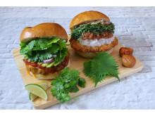 「GOKU BURGER」に夏の暑さを吹き飛ばす期間限定ハンバーガー2種が登場!