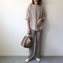 【GU】実はコレ、3Wayで着られちゃう!こなれ感ある「メッシュバックリボンセーター」は本気でマストバイ