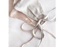 結婚式にも最適!『PLACOLE&DRESSY』プロデュースの「サテンリボンマスク」発売中