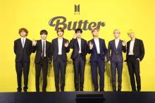 BTS「Butter」リミックスを27日に発表 メーガン・ザ・スタリオンとコラボ