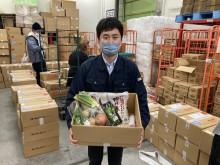 食文化が全国の困窮子育て世帯2,000軒への食材提供事業に協賛