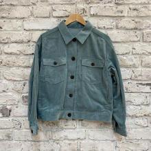 【GUレポ】秋のマストアイテム「コーデュロイジャケット」が今季も登場。旬のグリーンで今年らしく着こなして