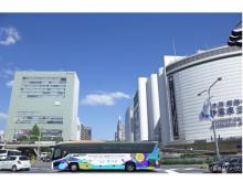 新水族館誕生に先駆けアートなラッピングバスが神戸を走る!