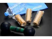 植物性と動物性のWたんぱく質がとれる「筋肉ちくわ マイティ・マッスルバー」が発売