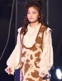 【TGC2021A/W】井上咲楽、初出演に感激しきり「夢でした。緊張した!」