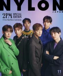 "2PM『NYLON JAPAN』堂々の初登場&初Wカバー 活動休止から""完全体""になるまでの期間など語る"